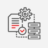 Icona Anàlisi del compliment RGPD en àmbit legal